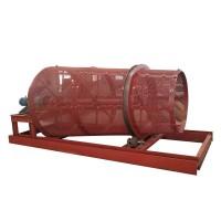 小型复肥厂用圆锥滚筒筛 型号全 免费选型 圆锥滚筒筛分机